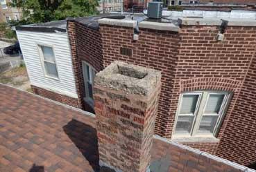Open roof seams